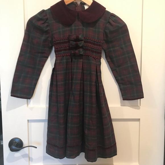 361999b11b28 Bonnie Jean Dresses | Plaid Holiday Dress | Poshmark